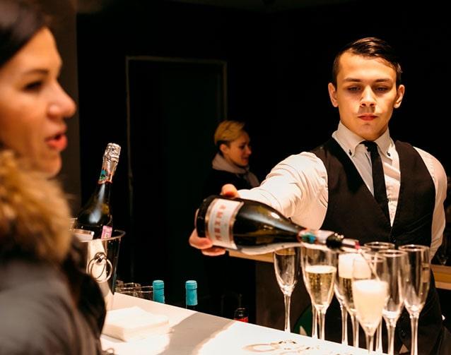 Дегустация шампанского в Москве
